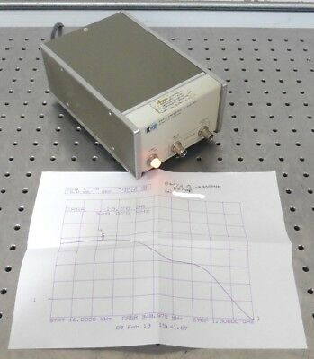 C147324 HP 8447A Amplifier Preamp .1-400MHz *tested good*