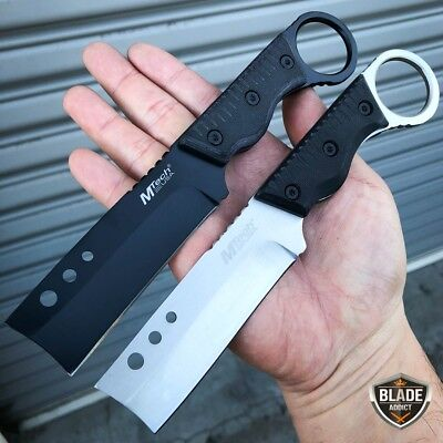 """M-Tech 8"""" Tactical Razor Cleaver Fixed Blade Hunting Camping Survival Army Knife"""