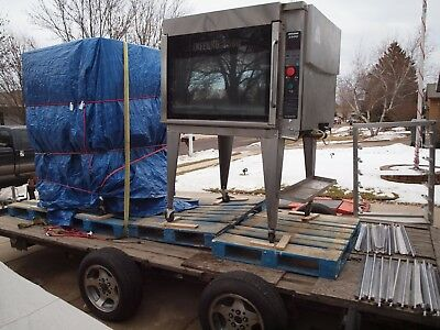 Pair Of Hardt Natural Gas Commercial Rotisserie Ovens Inferno 3500 Mfg. 2011