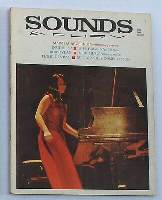 (Magazine) SOUNDS & FURY Magazine April 1966 / Bob Dylan