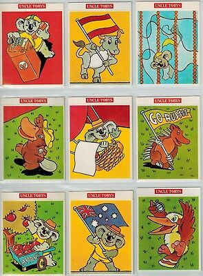 Uncle Tobys Olympic Mascot Collector Cards (9)