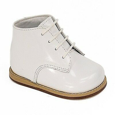 Josmo Kids' Unisex Walking First Walker Shoe White Patent Infant (0-12 Mo... New