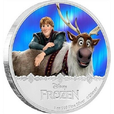 2016 $2 Niue - Disney Frozen - Elsa 1oz Silver Proof Coin New Zealand Mint