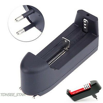 EU Universal charger for 3.7V 18650 16340 14500 lithium ion rechargeable battery
