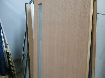 Hume Front Door Glass And Wood Solid 2040 X 920 X 40 No Reserve