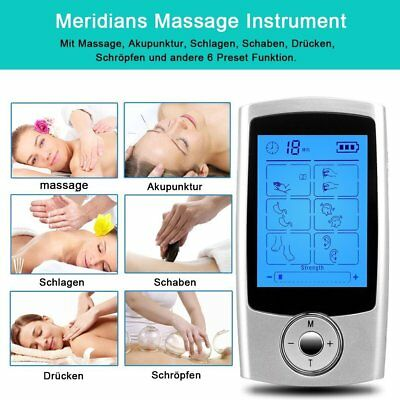 Tens & EMS Machine Muscle Pain Relief 8 Diverse Modes and Pads For You