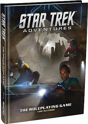Modiphius Entertainment Star Trek Adventures Core Rulebook Role Playing G... New