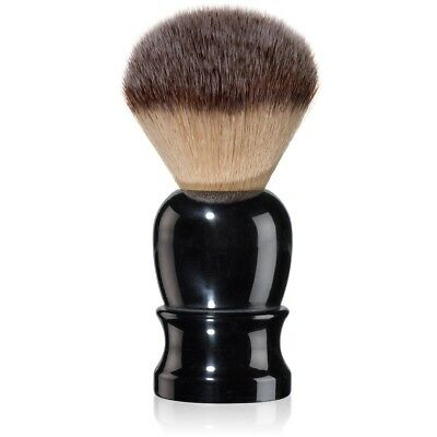 Fine 'Classic' Synthetic Hair Shaving Brush with Black Handle