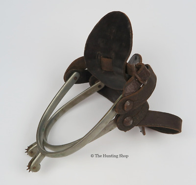 Four Pairs of Old Spurs with Rowels