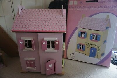 LE TOY VAN DOLLS HOUSE (My First Dream House) - including furniture