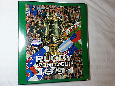1991 Regina Rugby World Cup - Complete Set 166 cards in Rare Official Album
