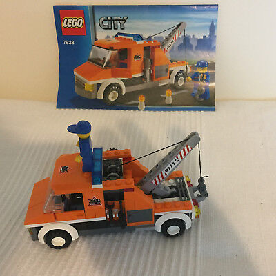 LEGO 7638 City Tow Breakdown Truck - 1 Minifig - Complete - £9.99 ...
