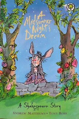 A Midsummer Night's Dream by William Shakespeare [Paperback]