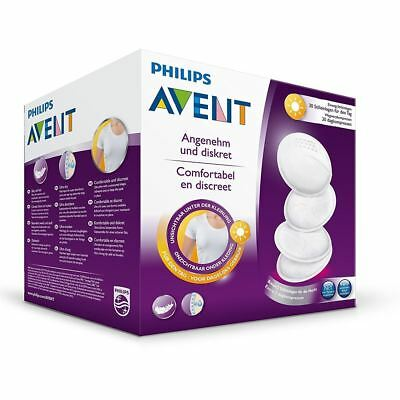 Philips Avent 60x Disposable Breast Pads Day Ultra Dry Comfortable & Discreet
