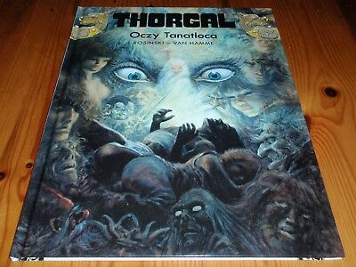 *New Polish Book* Thorgal, tom 11 - Oczy Tanatloca *komiks*