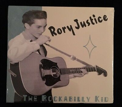 Rory Justice - The Rockabilly Kid - RARE - CD - SEALED
