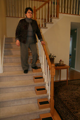 StairAide Half-Height Step Set - a simple & healthy alternative to a StairLift.