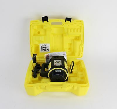 Leica Rugby 840 Multi-Purpose Rotating Laser Level Kit, Case