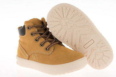 Kids Boys Ankle Boots Lace Up Shoes