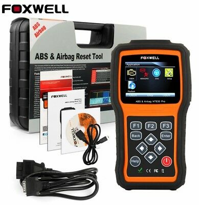 ABS Airbag SRS SAS Reset OBD2 Code Reader Diagnostic Scanner Foxwell NT630 Pro