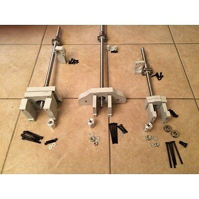 Nr1 G0704 cnc conversion kit ( Grizzly) not  require drilling