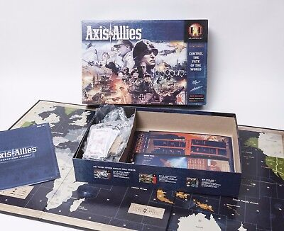 Axis & Allies Control the Fate of the World Board Game by Avalon Hill
