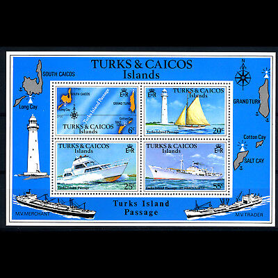 TURKS & CAICOS Is 1978 Island Passage. SG 493. Wmk. Mint Never Hinged. (AR612)