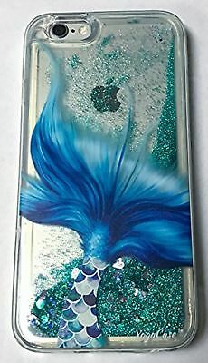 iPhone X Case, YogaCase Liquid Glitter Back Protective Cover (Mermaid Tal... New