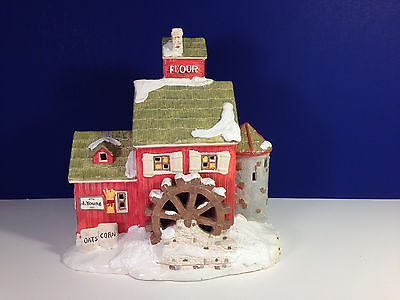 Dept 56 Snow Village J. YOUNG'S GRANARY w/ box Combine Shipping!