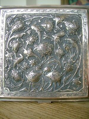 Good Quality Antique Middle Eastern Table Cigarette Box Trinket Jewellery Casket