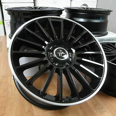 4x Felgen KESKIN KT15 SPEED Black Lip Polish (BLP) 8x18 Zoll 5x112 ET45