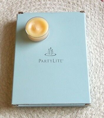 Partylite Tea Candles Box of 12 ~ New In Box ~ Mango Tangerine ~ Free Shipping!