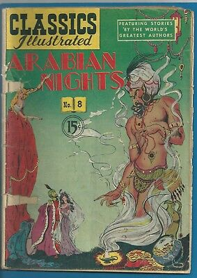 Classics Illustrated #8 Arabian Nights