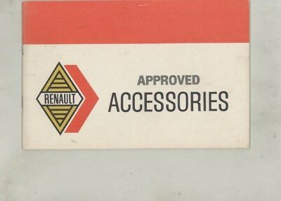1969 1970 Renault Full Line Accessories Brochure wz0458