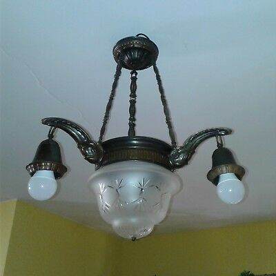 Antique Style French Empire Chandelier/ 1920s