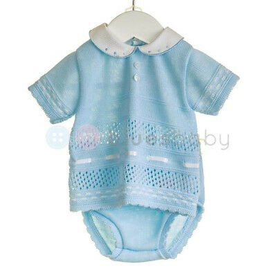 Zip Zap Baby Boys Girls Romany Spanish Style Knitted Top & Jam Pants Outfit SS18