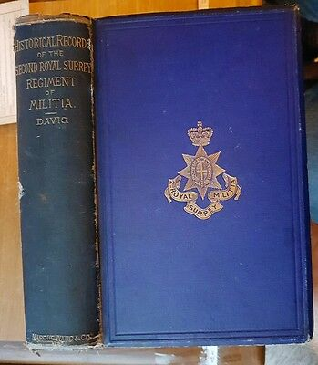 1877 Book - Historical Records of the 2nd Royal Surrey or 11th Regt of Militia.