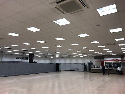 Used wipeable hygienic ceiling tiles