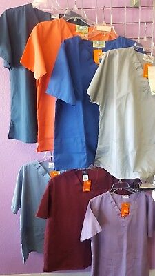 Scrub Tops Size Large Lot of (7)
