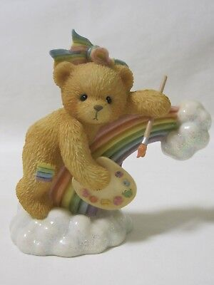 Cherished Teddies ELLEN You Color My Rainbow Bear 302775 IOB