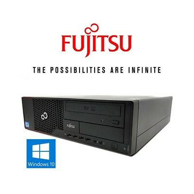 desktop computer fujitsu esprimo e910 e85+ windows10 i5 (c.2) pc refurbished co