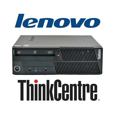 desktop computer lenovo thinkcentre a86 windows 7 i5 (c.1) pc refurbished with g