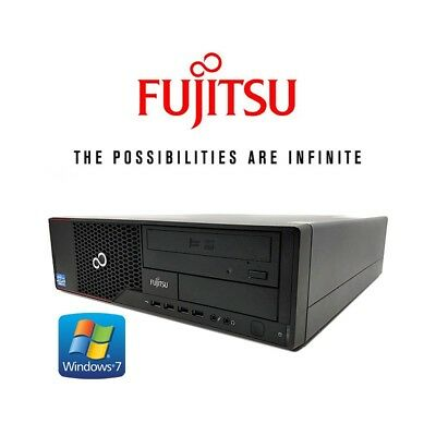 desktop computer fujitsu esprimo e910 e85+ windows7 i5 (c.1) pc refurbished