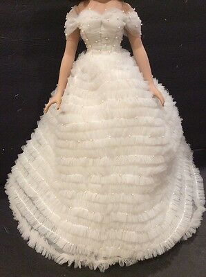 """Tonner Miss America WHITE BALL GOWN & RED CAPE  18"""" Doll Fashion"""