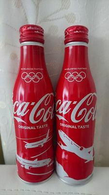 Limited Time Sale! Japan Airlines(JAL) × Coca Cola 250ml Bottle Can Set