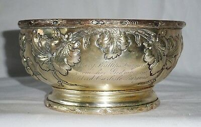 1900 Antique New York Sterling Silver Footed Bowl by Theodore B. Starr (Cro)