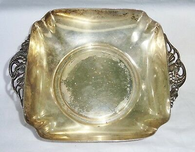 1950 US Taunton MA Sterling Silver Footed Bowl by Reed & Barton (Cro)