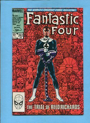 Fantastic Four #262 Marvel Comics January 1984 John Byrne VF/NM