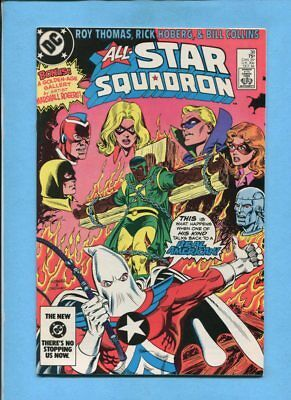 All-Star Squadron #38 JSA Amazing Man DC October 1984 VF/NM