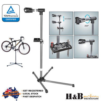 Heavy Duty Bicycle Bike Repaie Work Stand Tool Tray Certified Quality Sturdy